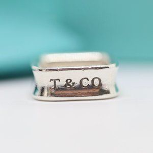 Tiffany & Co. 1837 Square Ring Size 5